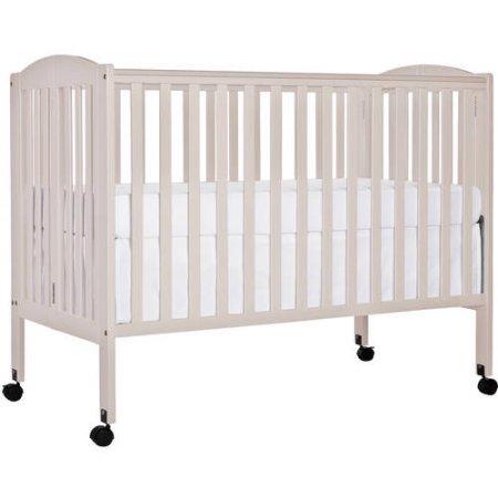 Dream On Folding Crib White Walmart