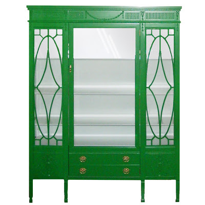 OKL green china cabinet1 switrial.blogspot