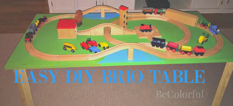Brio table DIY