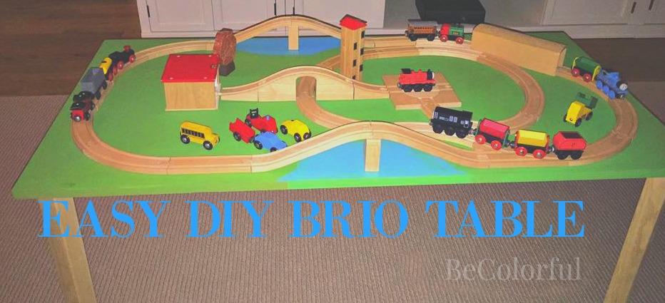 Epic Brio table DIY