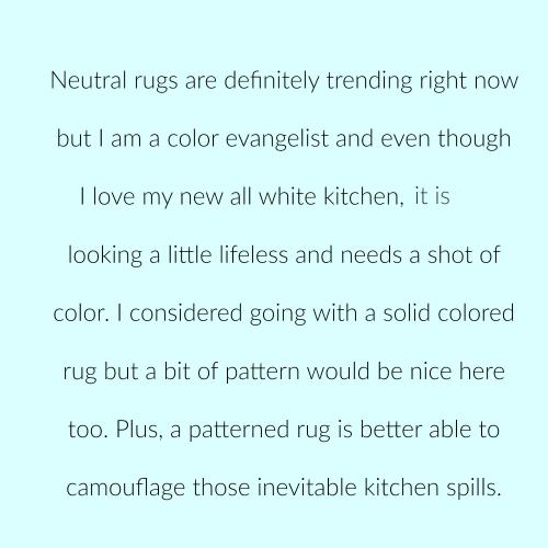 Kitchen rugs p 3