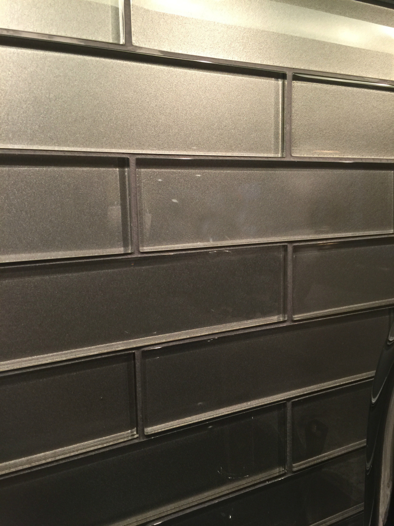 Platinum glass tile