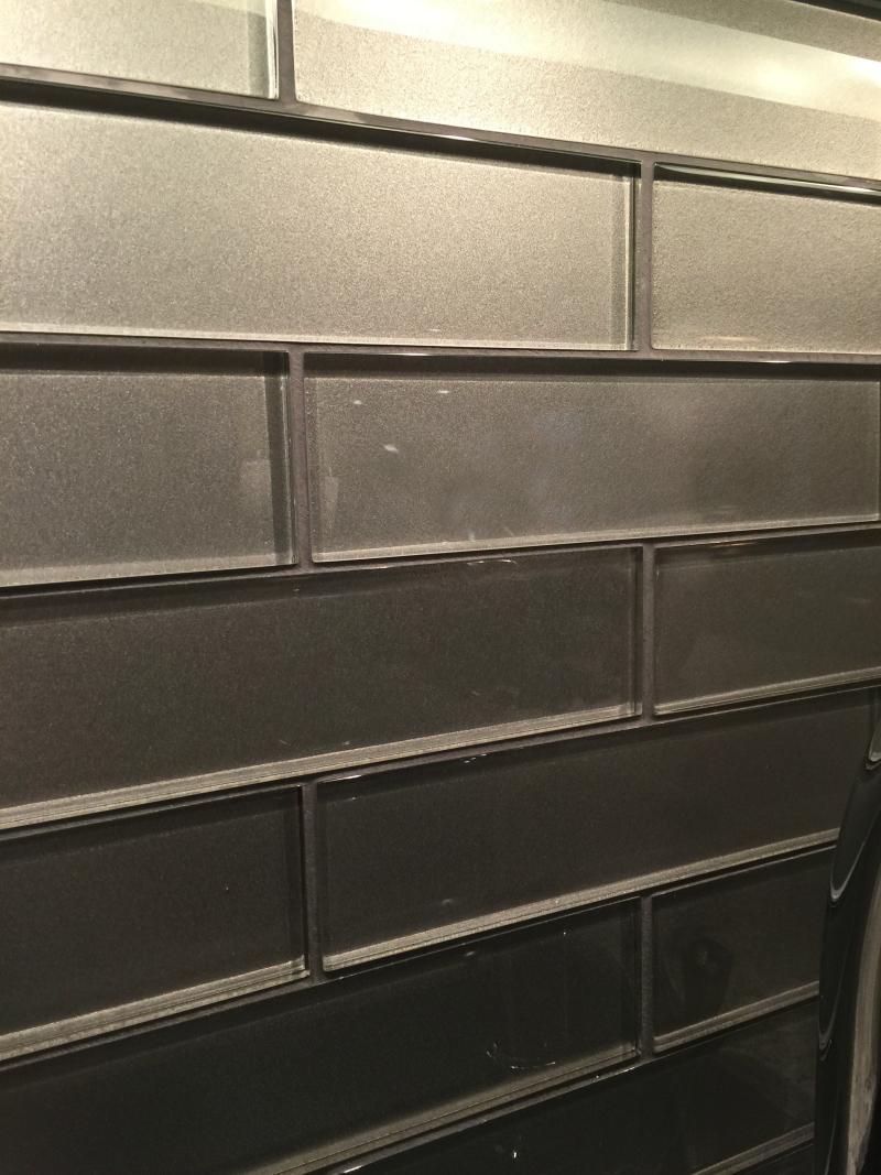 Platinum glass tile