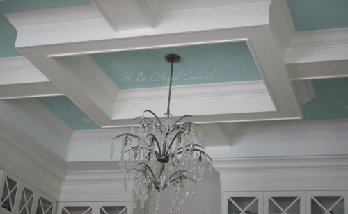 S. W. Waterfall coffered ceiling