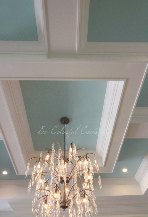 Be Colorful Coastal Ceiling