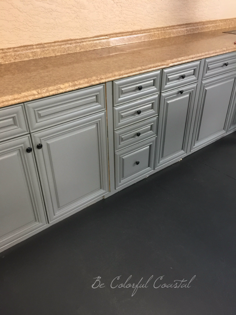Upcycled cabinets