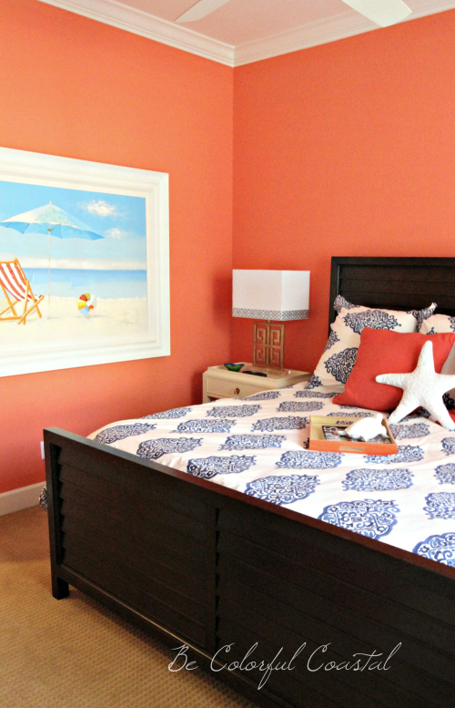 Fan Coral bedroom