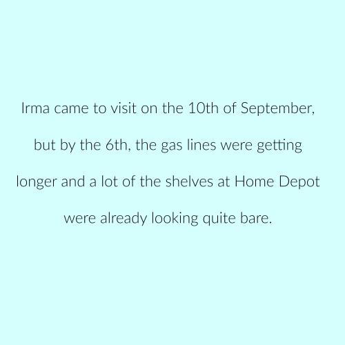 Irma Sept. 6