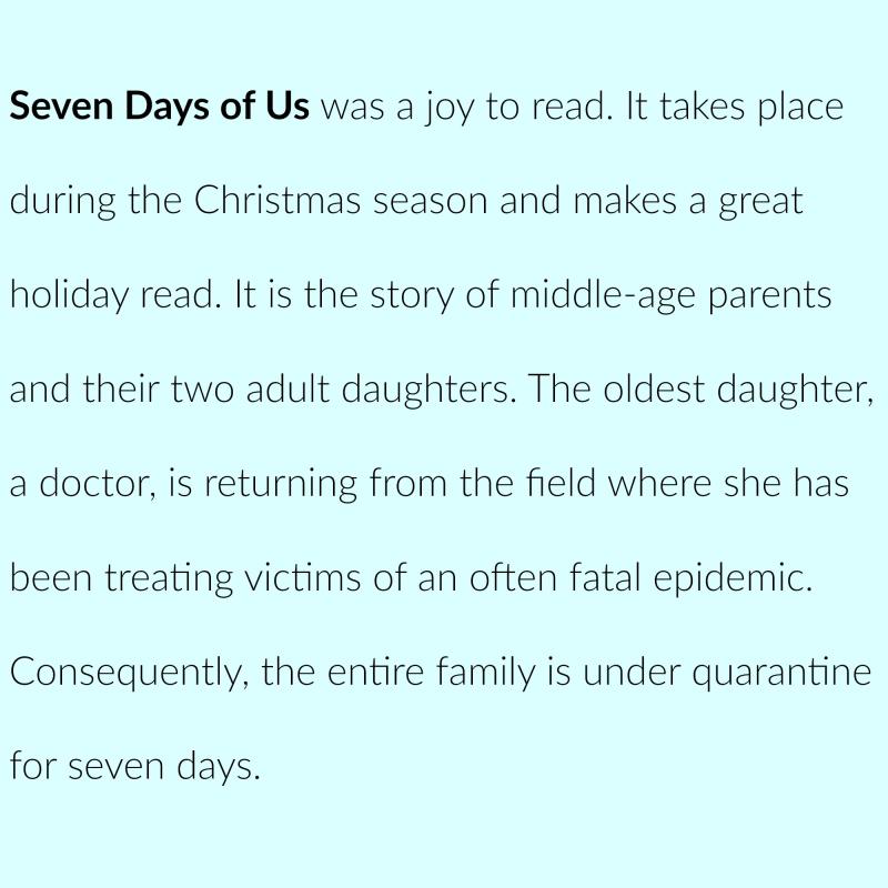 Books 2017 7 days of us 1