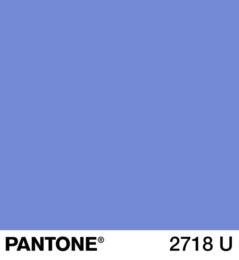 Periwinkle Pntone 2718