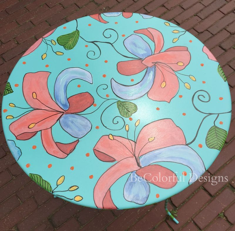 Table Top with dots