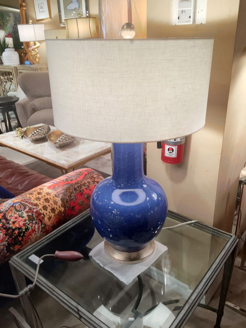 John richards blue lamp