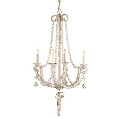 Wampum shell chandelier Currey