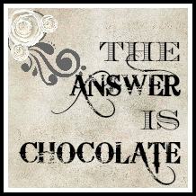 The answer is chocolate friday link party