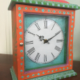 Be colorful coastal clock front