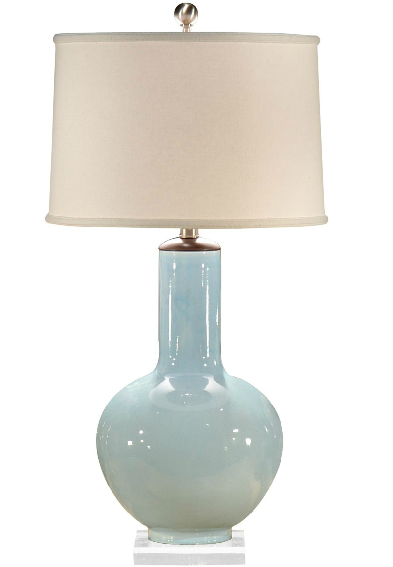 Wildwood 13115 Bottle Blue Table Lamp