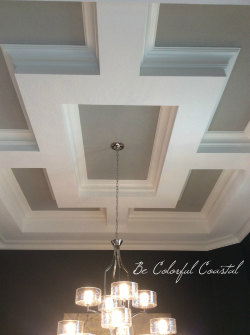 Coffered ceiling Audubon