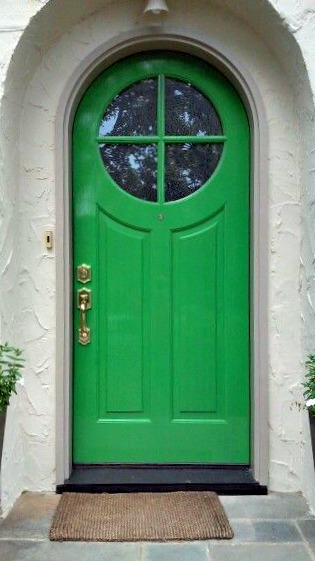 Emerald Green Front Door