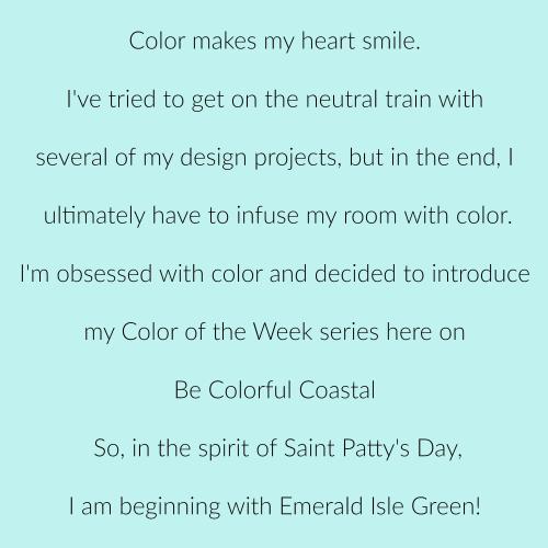 Emerald Isle Green p 1
