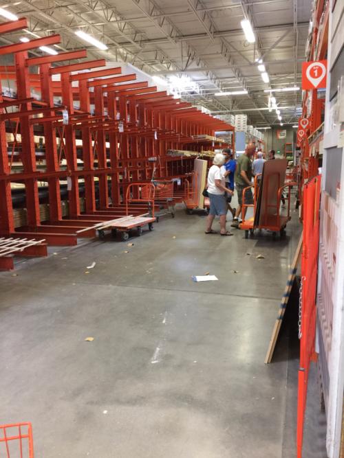 Sept 6 Home Depot