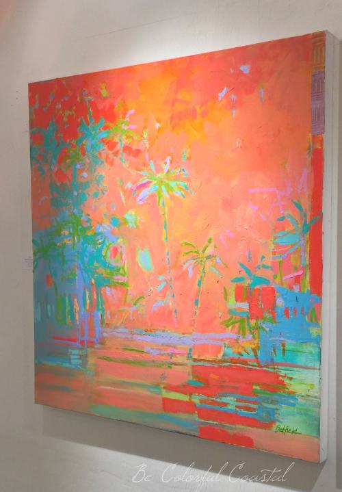 Brenda Belfield coral palms