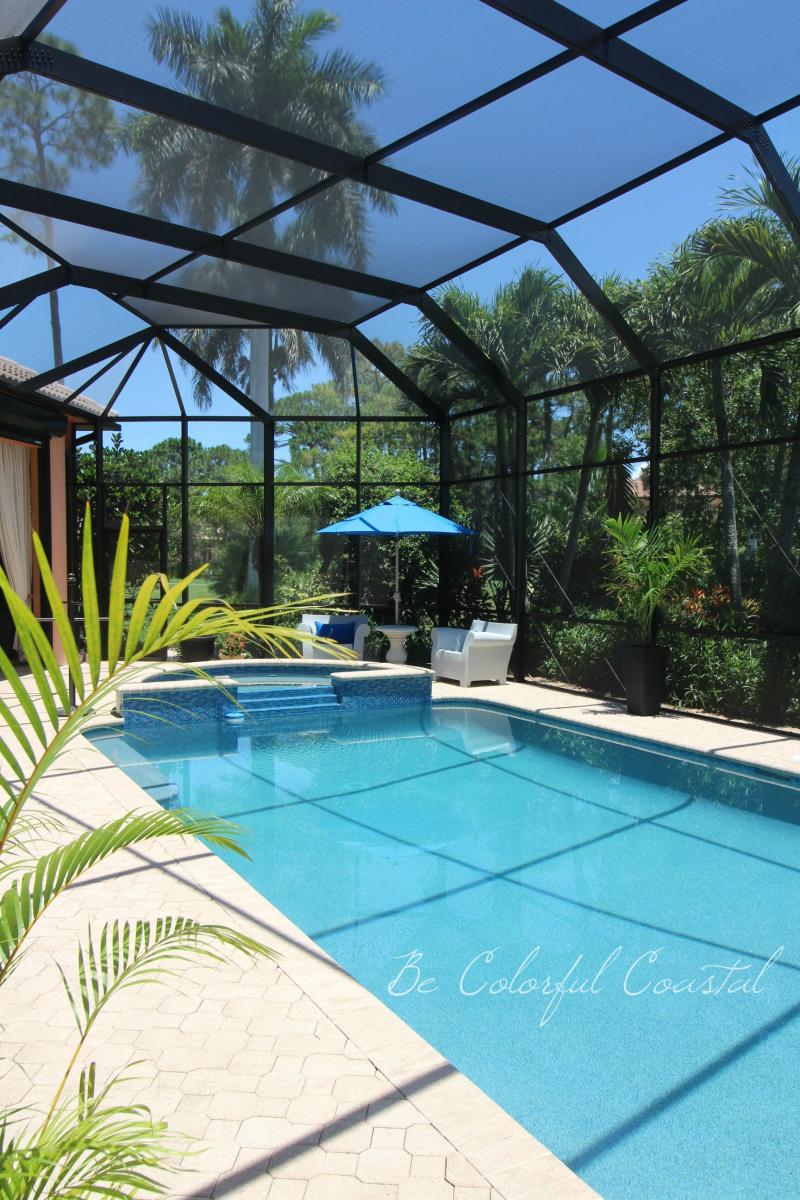 Pool before Irma