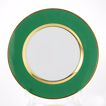 Green and gold Le Noble dinner plateitmlike232546523748vectorid=229466&lgeo=1&item=232546523748&rmvSB=true 2