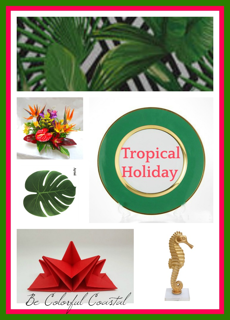 Tropical Holiday composite
