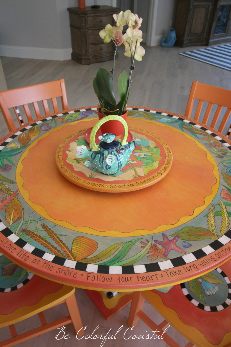 Sticks Table @ Be Colorful Coastal