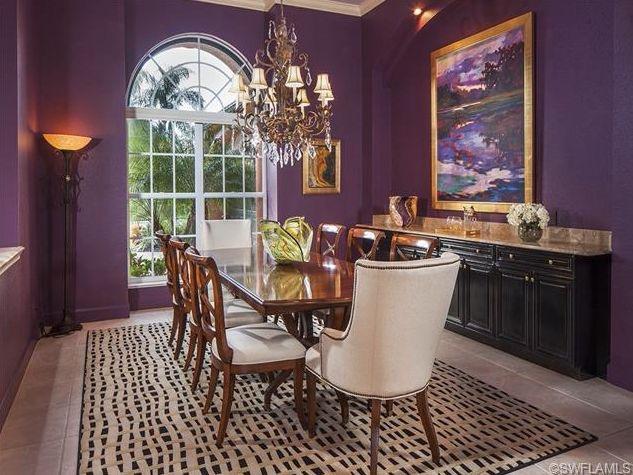 Purple Dining Room (1)