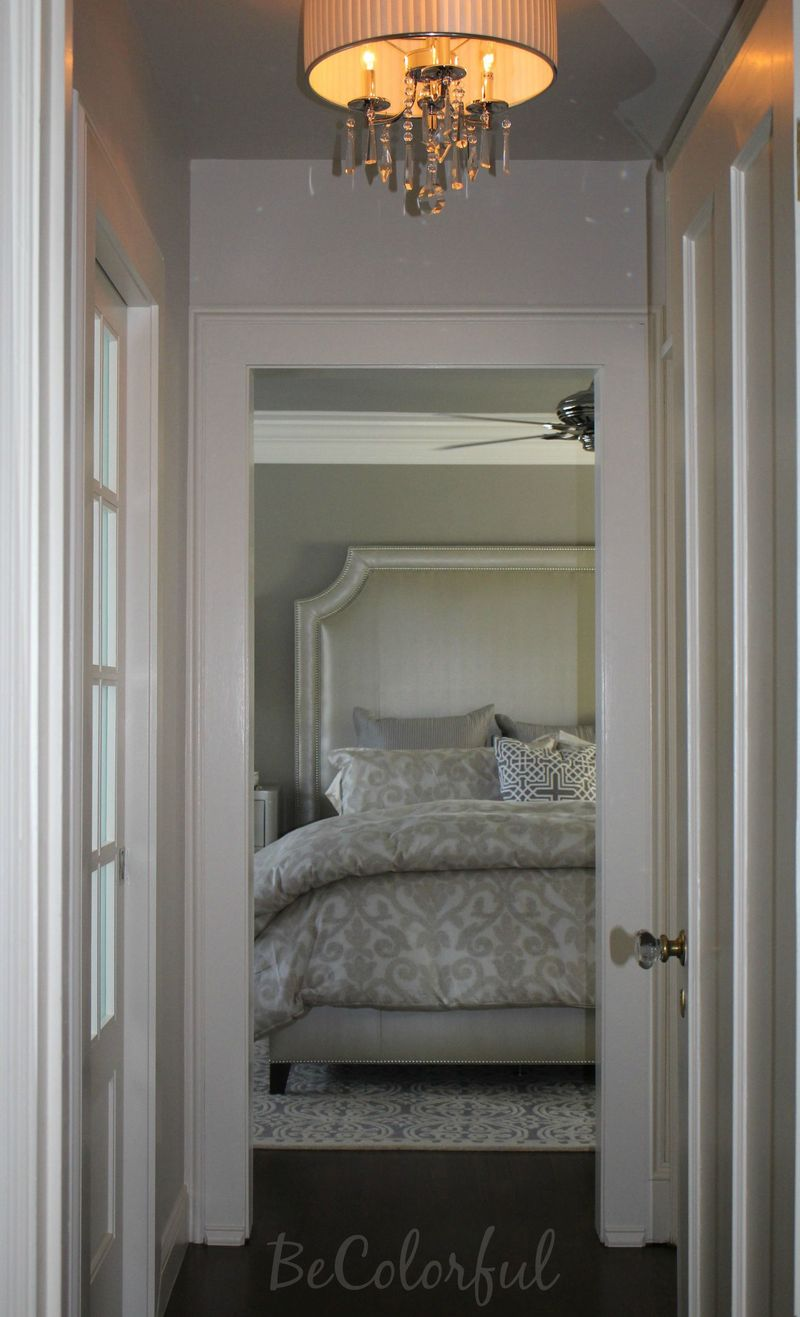 Entrance to bedroom after