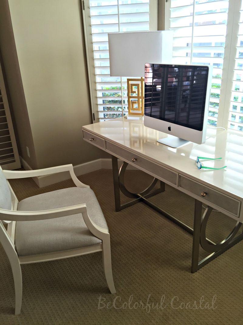 Bernhardt desk and chair