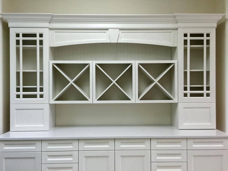 Kitchen by Monic cabinet display