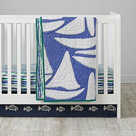 Regatta crib bedding land of nod