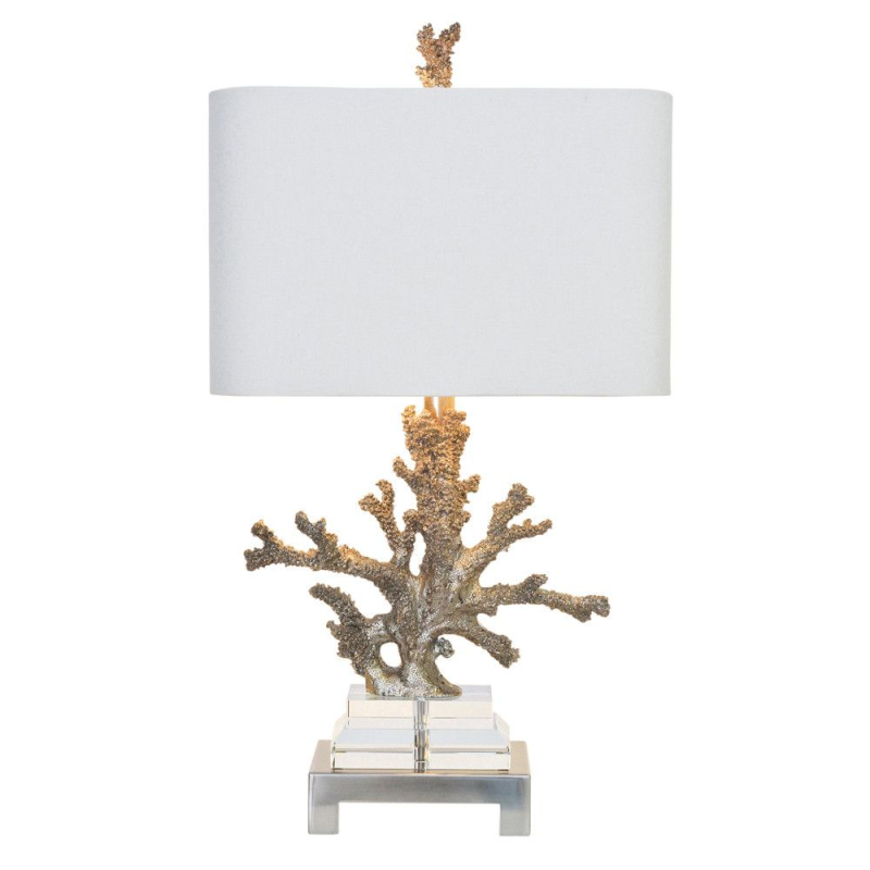Coral silver lamp sold by Manor 260
