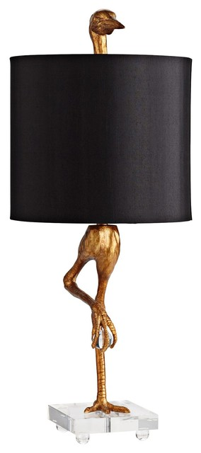 Cyan Design Acient Gold Ibis Bird Table Lamp Houzz
