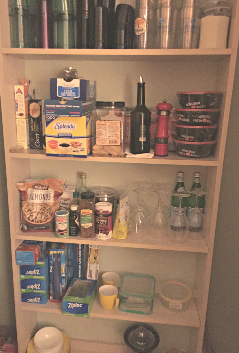Make shift pantry