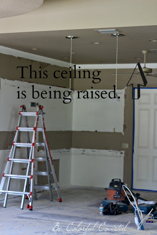 Raise the ceiling