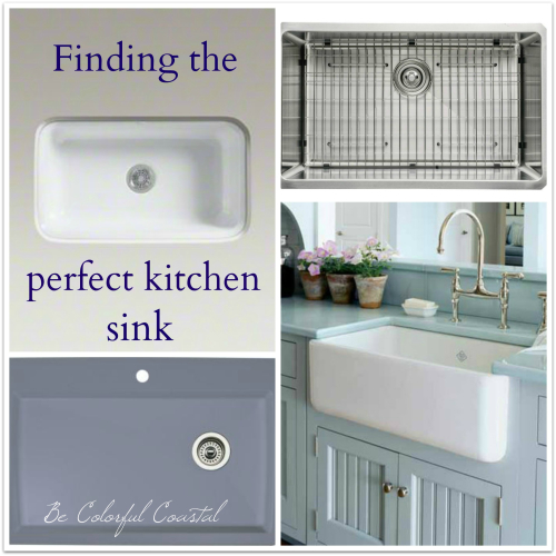 Sink collage