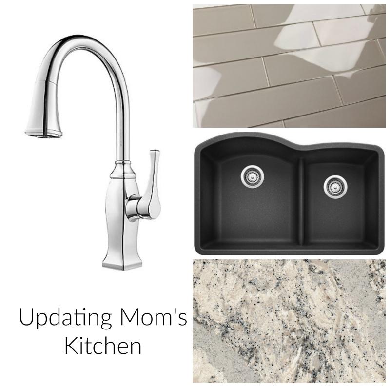 Mom's kitchen elements collage