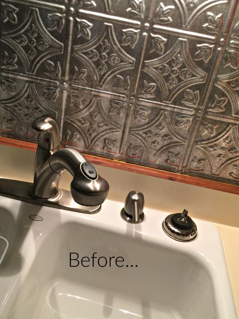 Mom's old sink