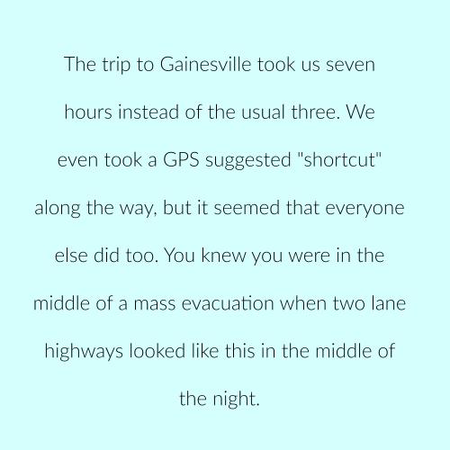 Irma detour