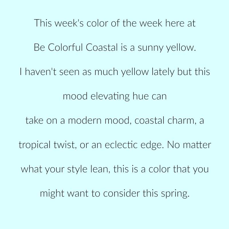 Sunny yellow p 1