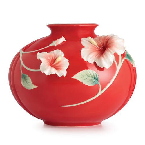 Http-::www.distinctive-decor.com:franz-porcelain-hibiscus-medium-vase