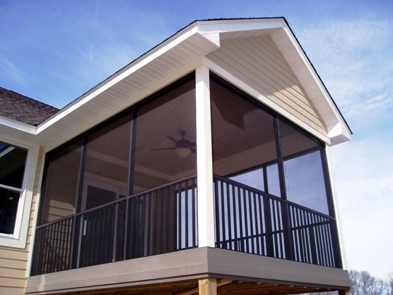 Bronze-Screen-Porch-Walls-with-safety-railing-3-season-room-addition-Ham-Lake-MN1 (1)