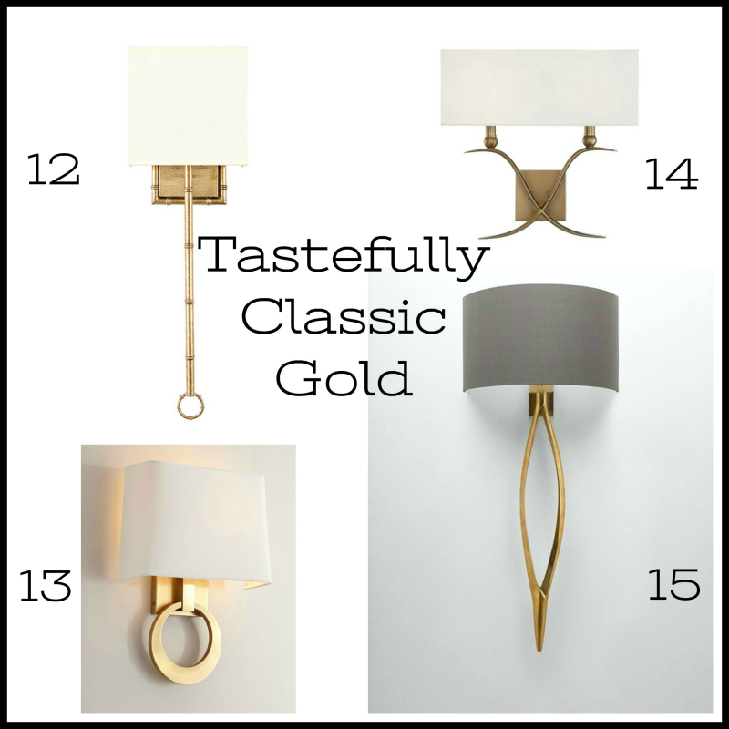 Tastefully Classic Gold