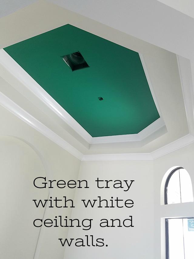 Green tray ng.comportfoliotray-ceilings