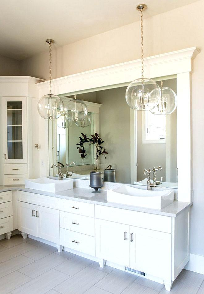 Be Colorful Coastal Styling A Bathroom With Pendant Lights