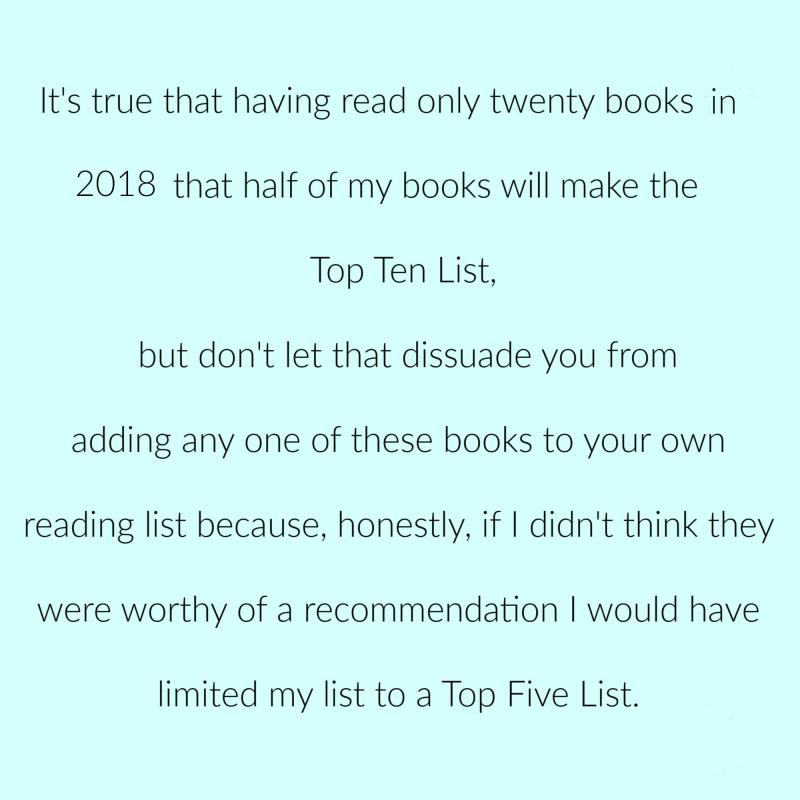 Books 2018 p 3