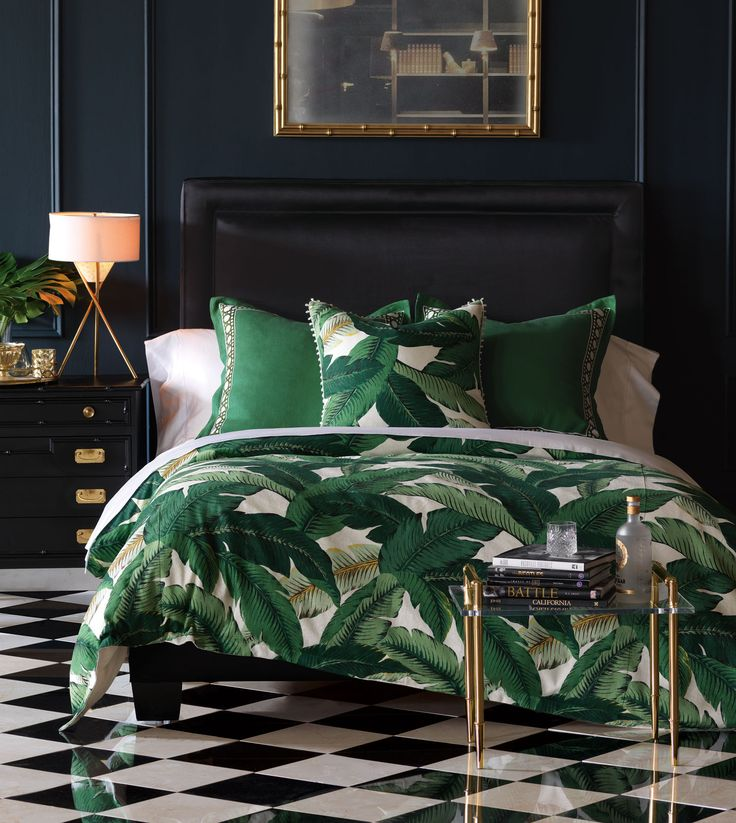 Be Colorful Coastal A Palm Beach Inspired Master Suite